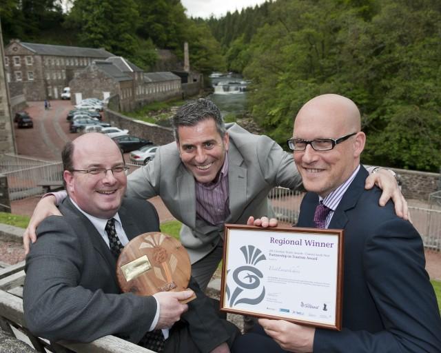 Visit Lanarkshire's Winning Team